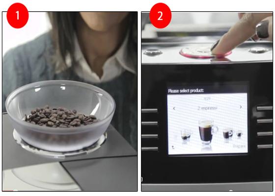Cách sử dụng máy pha cà phê tự động
