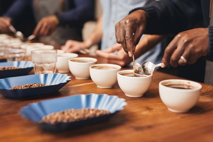 Cupping, cup test - cảm quan hương vị cà phê